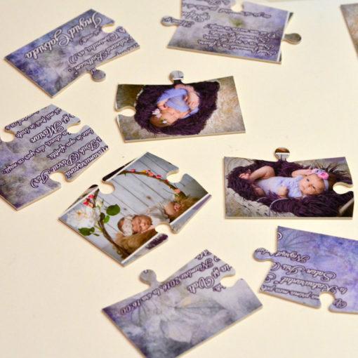 Invitatii Puzzle Personalizate Cu 3 Fotografii