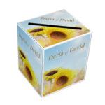 Cutie Pentru Dar Bani Nunta Floarea Soarelui