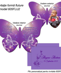 Invitatie Fluture