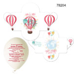 Invitatie Balon In Cutiuta