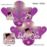 Invitatie personalizata Minnie Mouse