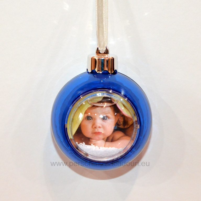 Glob Albastru Personalizat