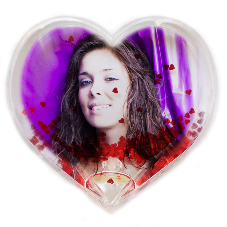 Glob Foto Inimioare Forma Inima