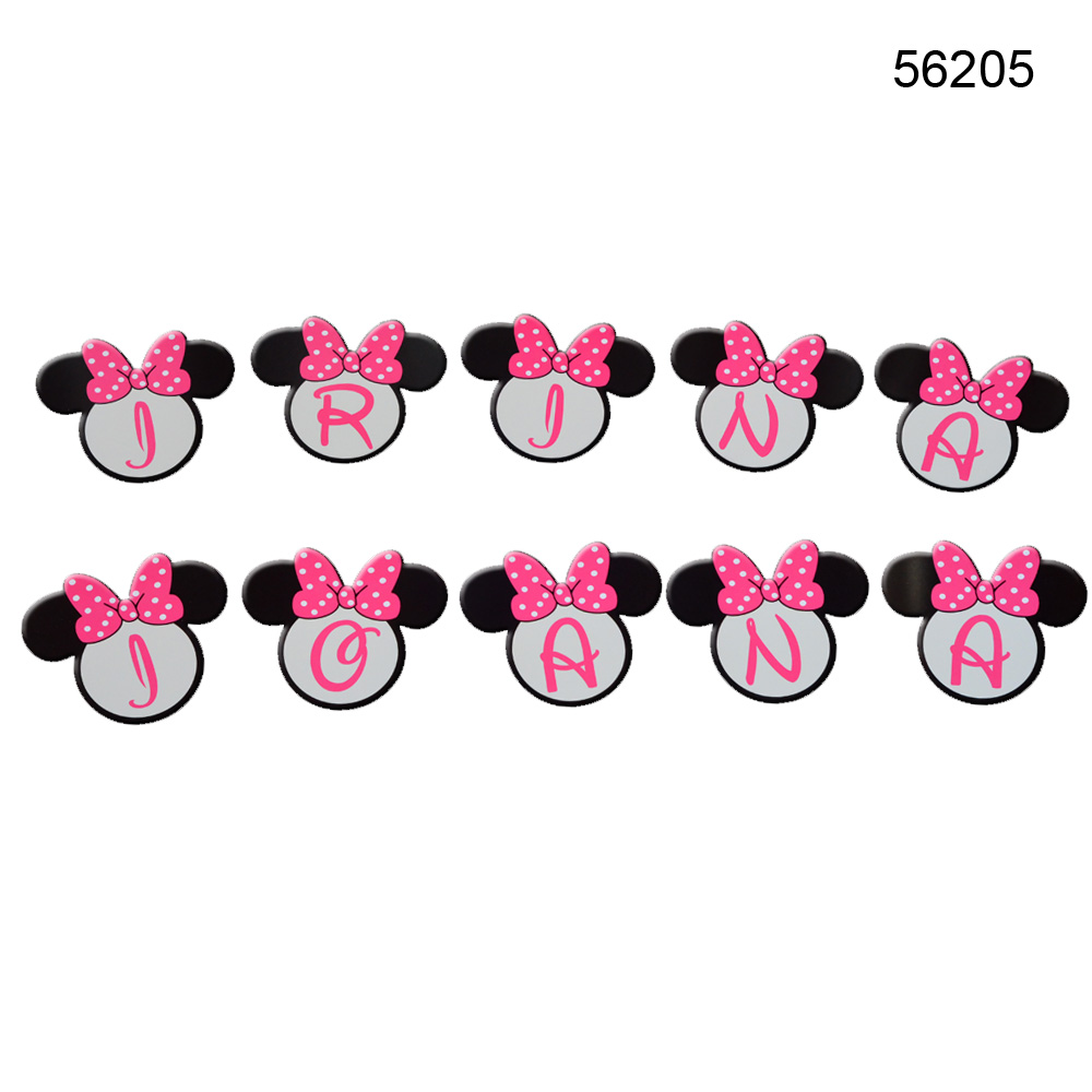 Litere Forma Minnie Mouse