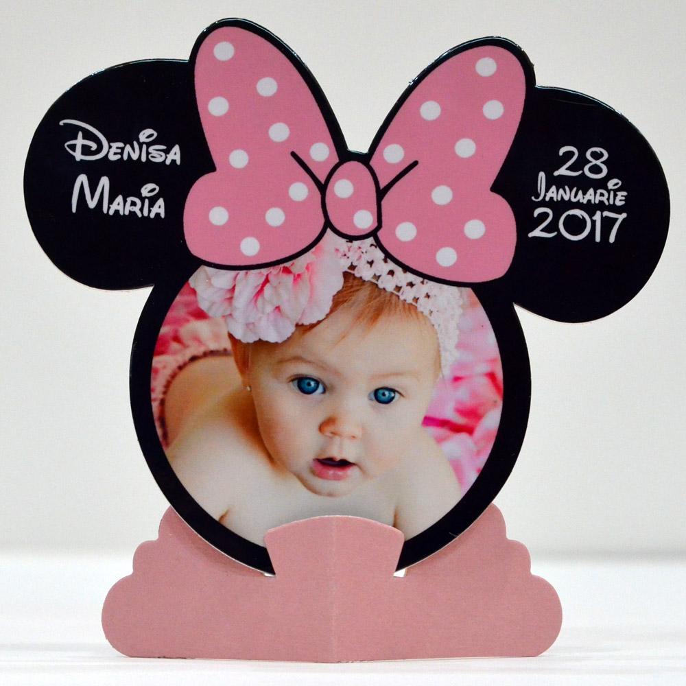 Rame Foto Marturii Minnie Mouse Marturii Unicate Personalizate Botez