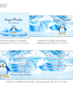 Invitatii Botez Personalizate