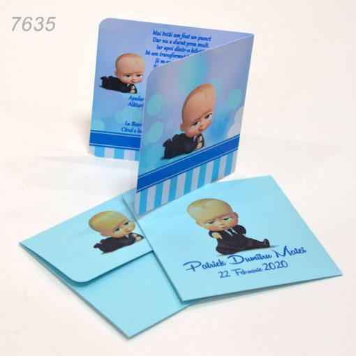 Invitatie Botez Baby Boss