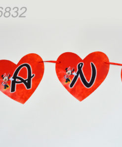 Litere Forma Inima