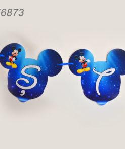 Litera Forma Mickey Mouse