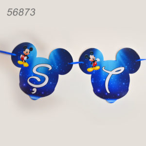 Litera Forma Mickey Mouse