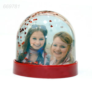 Glob Foto Mini Cu Inimioare