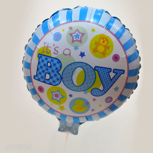 Balon Folie Botez Baieti