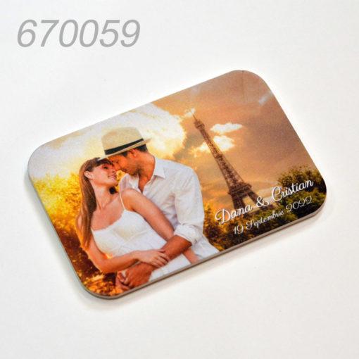 Magneti 14x10 cm Personalizati Cu Fotografie Plastic