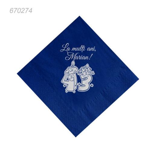 Servetele personalizate 43 ani cadouri
