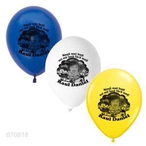 Baloane Aniversare, baloane personalizate cu fotografie si masinute cars