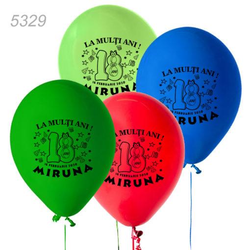 Baloane Aniversare Majorat 18 Ani