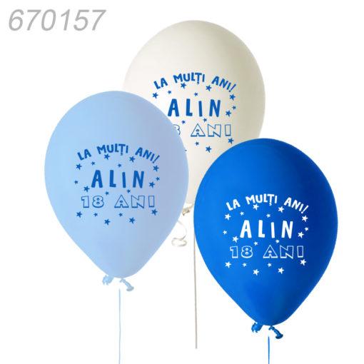 Baloane personalizate 18 ANI