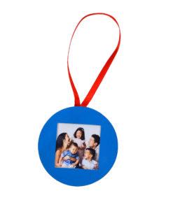Globuri Decoratiuni Ornamente Brad ALBASTRU Personalizate