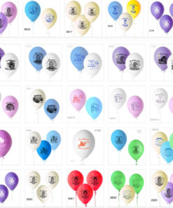 Baloane personalizate set 12 bucati