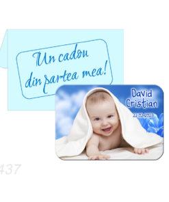 Marturii botez culoare albastru si bleu