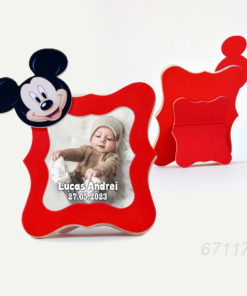 Marturii Rame Foto Mickey Mouse Nuanta Rosie